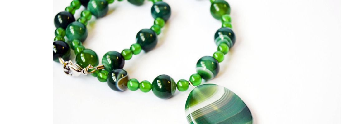 Contemporary Agate Jewellery