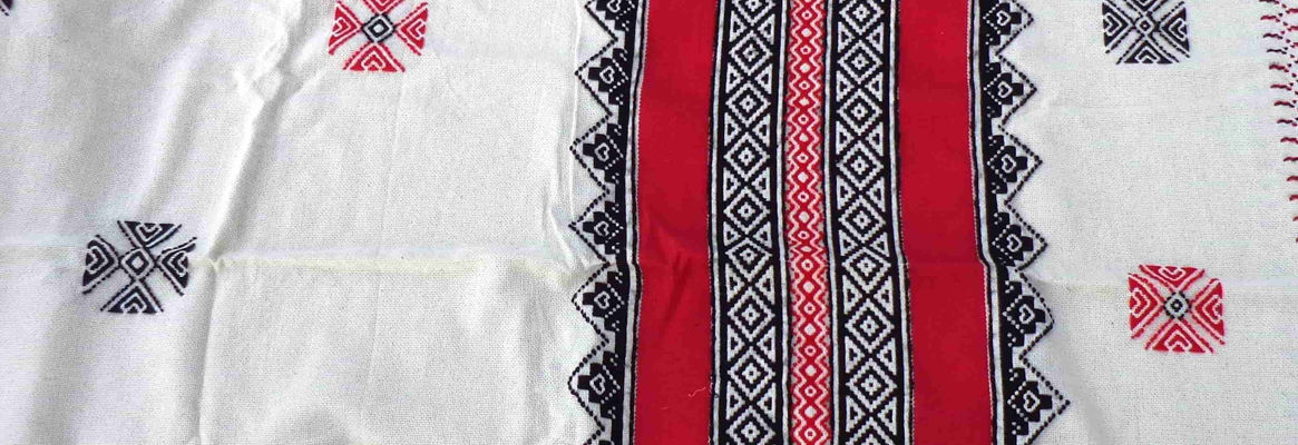 Toda Embroidery-A Tribal Embroidery