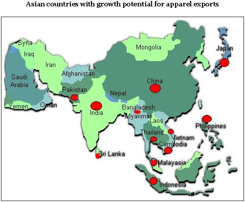 Asian Countries Offer Niche Market for Apparel Exports
