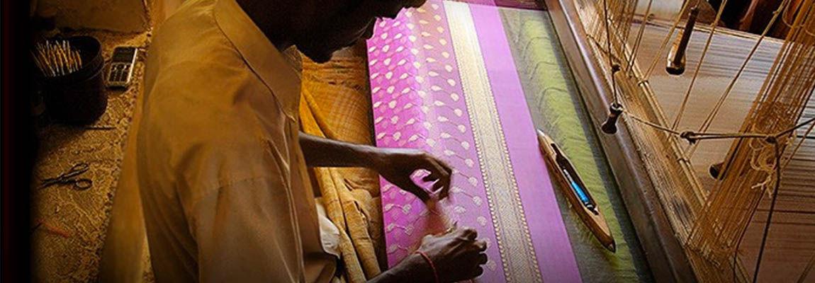 Hand woven Chanderi - Pride of Madhya Pradesh