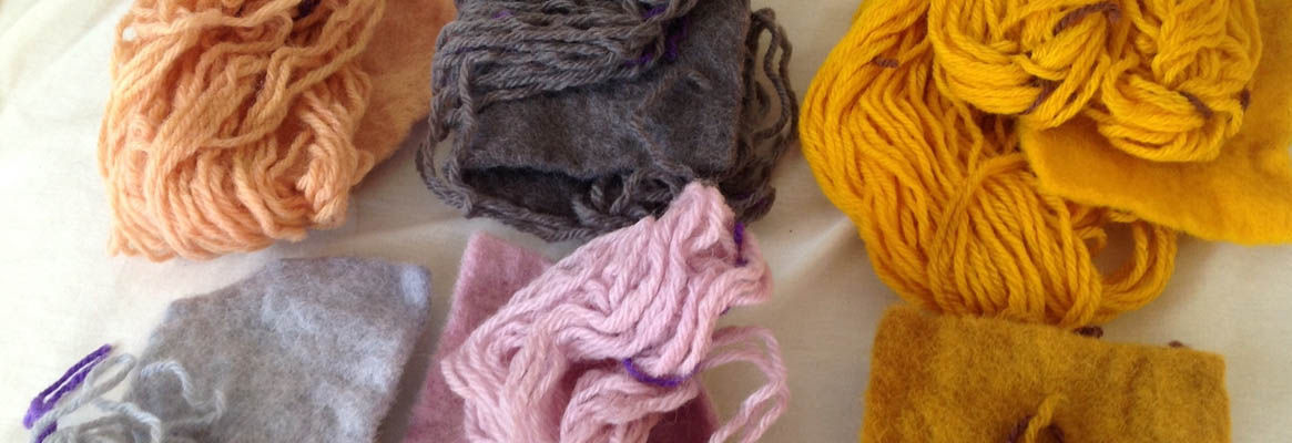 Application of Mixture of Selected Natural Dyes on Mercerized Cotton Material Using Processed Mordan