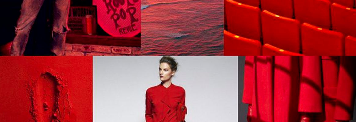 'Red' - the trendsetter color of fashion industry
