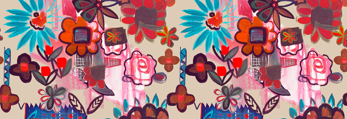 The Floral in Textile Surface Pattern Work