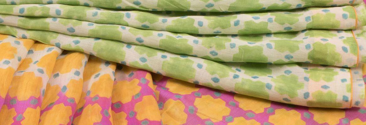 A Design Concept of Block Printing Through Motifs of Chanderi Sari