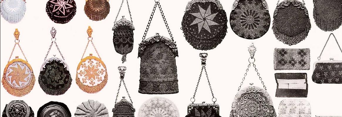Victorian Crocheted Purses and Bags