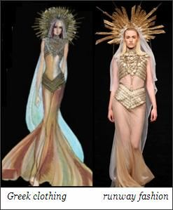 Greek Fashion Modern Inspiration Ancient Of Greece Costumes Fibre2fashion