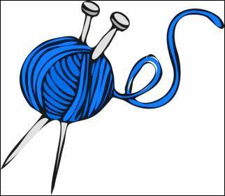 yarn blue