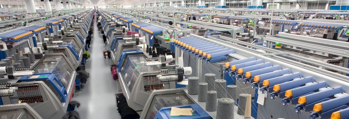 Fully Automated Textile Plants Textile Manufacturing