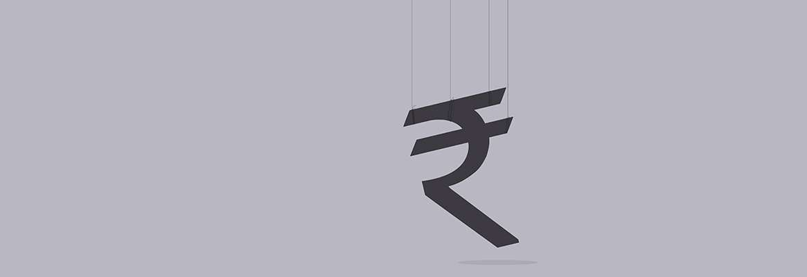 Government's Wrong Policies behind Rupee Fall