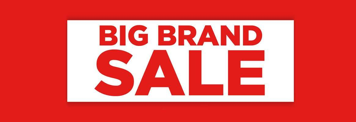 Big Brands on Sale