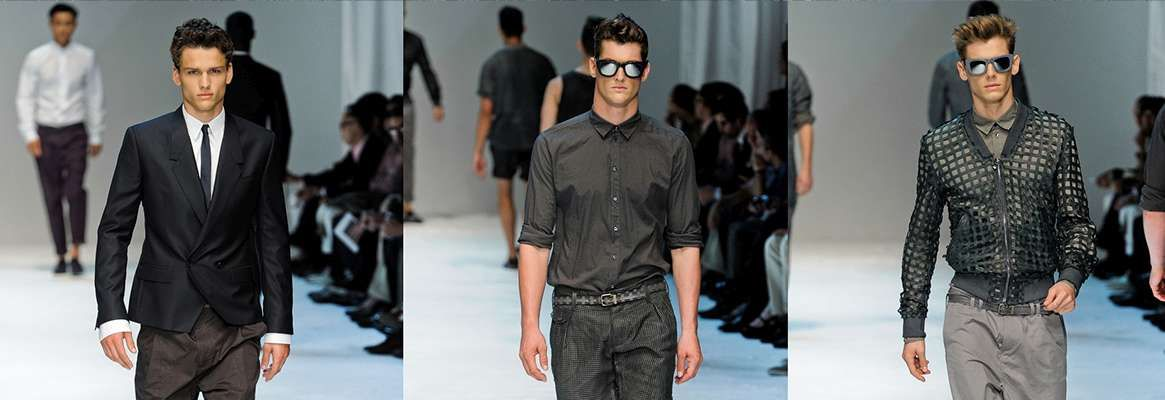 Unveiling men's fashion for 2013
