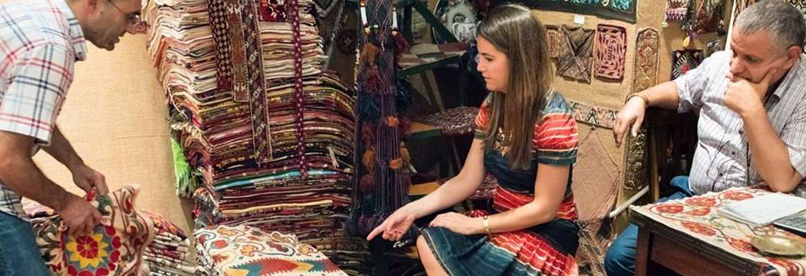 Textiles & Tradition in the Marketplace