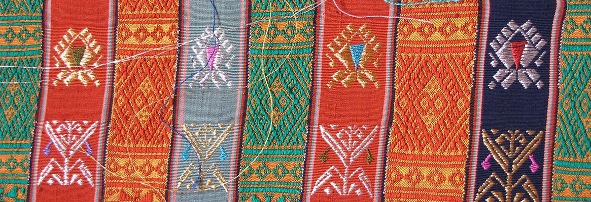 Supplementary Warp Patterned Textiles of the Cham in Vietnam
