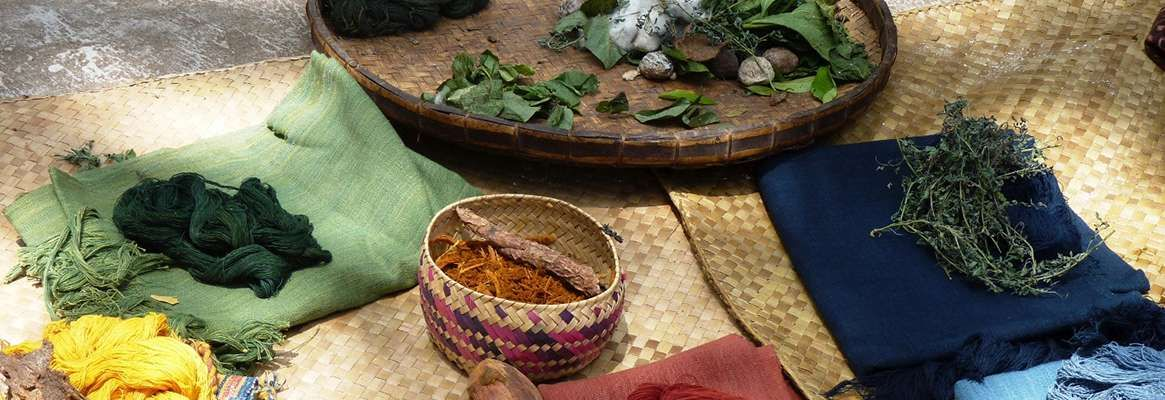 "Role of Natural dyes in ""Wellness Textiles"""