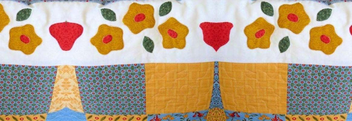 Appliqué & Patchwork : Traditional craft of ornamenting fabric on fabric