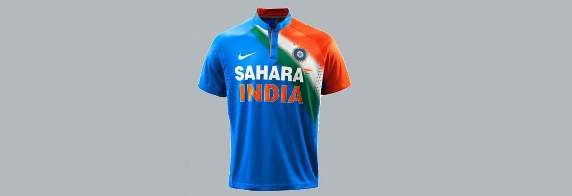 """""""Evolution of Colors in Indian Sport Jerseys"""""""