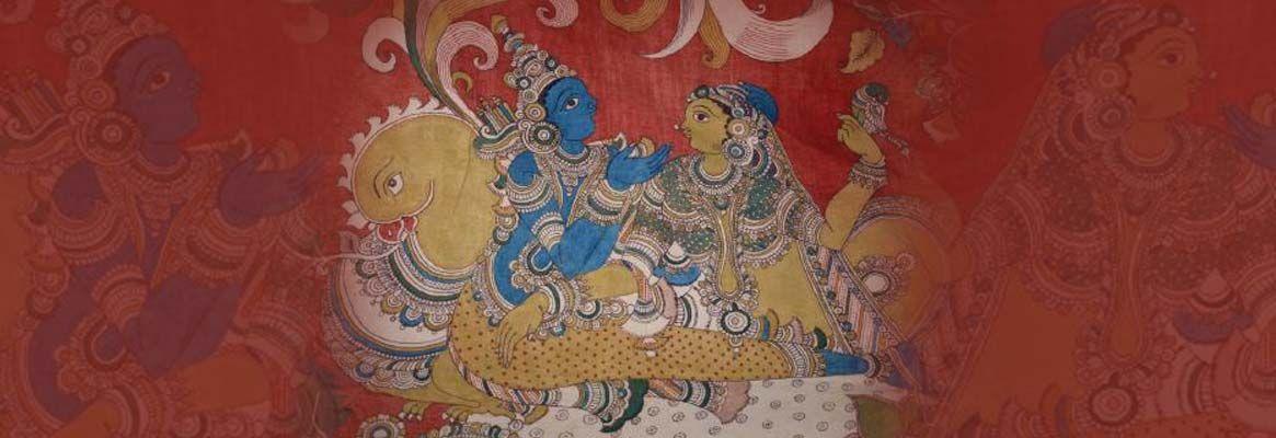 Kalamkari - The Painted Temple Cloths