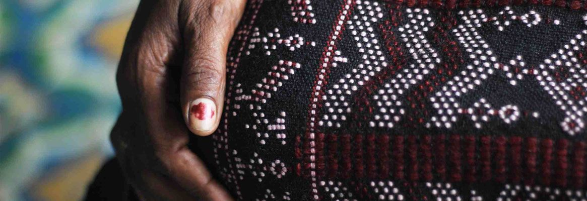 Tangaliya - The Lesser Known Textile Craft of Saurashtra Gujarat