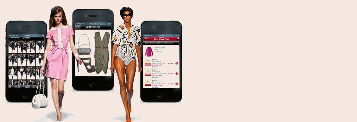 Mobile Apps enter the Fashion Industry