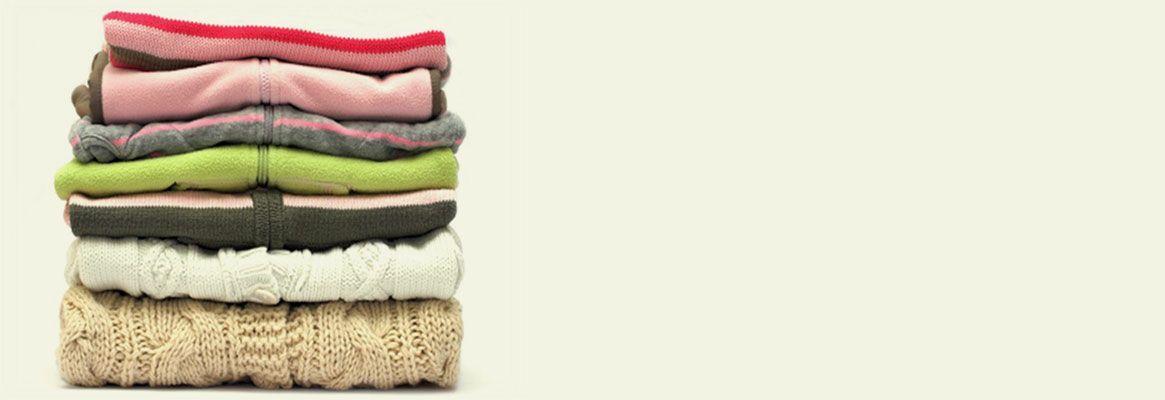 Storage of textile materials