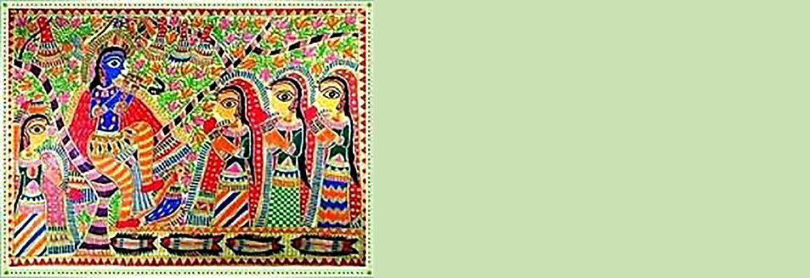 MADHUBANI - rural art reflecting traditionalism in modernity
