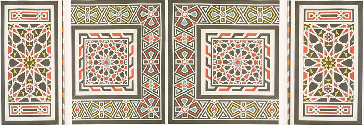 Abstract Decorative Pattern Work