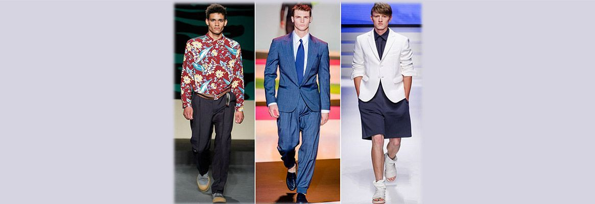 Spring/Summer 2014 trends for men