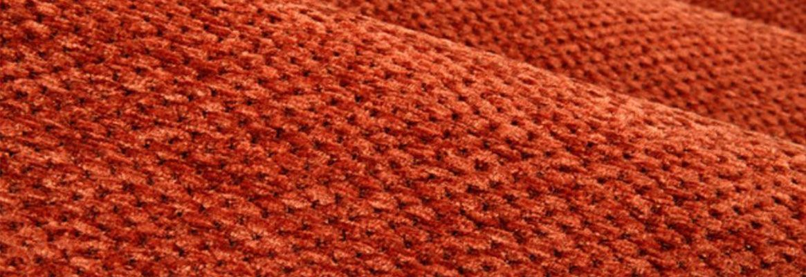 Luxury made visible with chenille