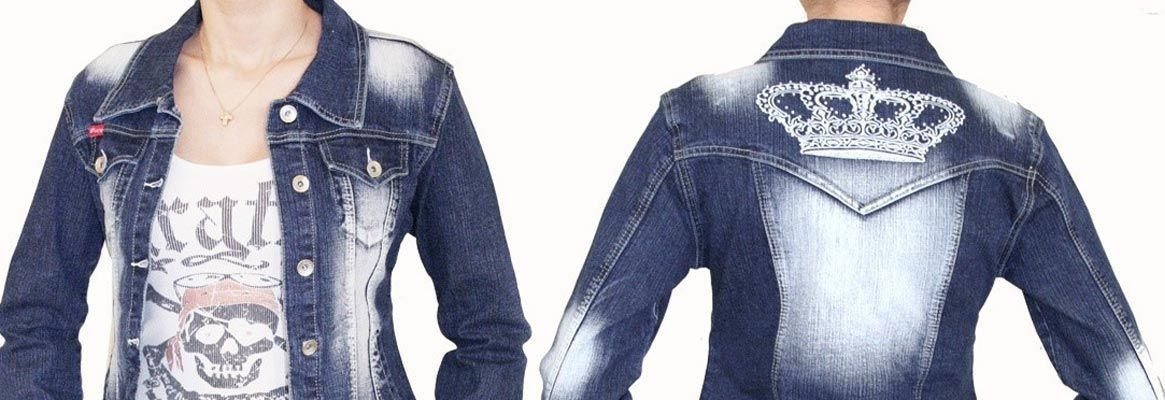 Cutting edge denim washes and technologies