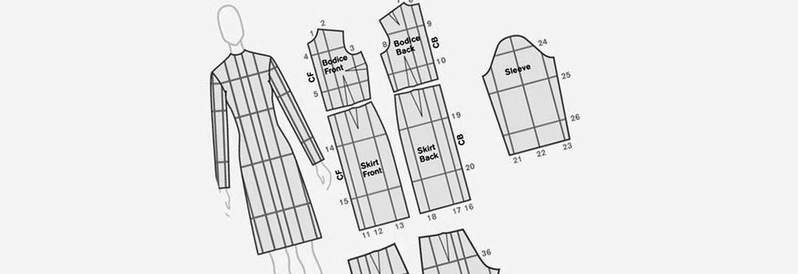 The art of garment pattern grading