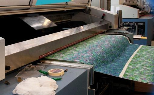 Symptoms, Diagnosis and cure (SDC) Concept in textile pigment printing