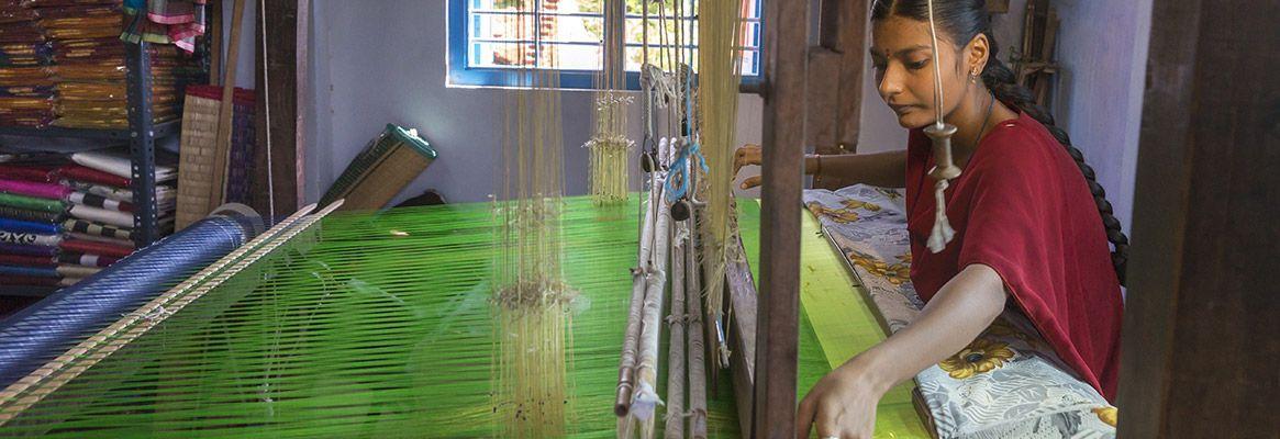 The fine art of Pochampalli weavers