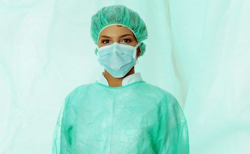 Textile-based personal protective equipment for healthcare personnel