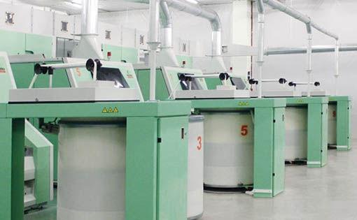 Carding technology in Marzoli C701 card