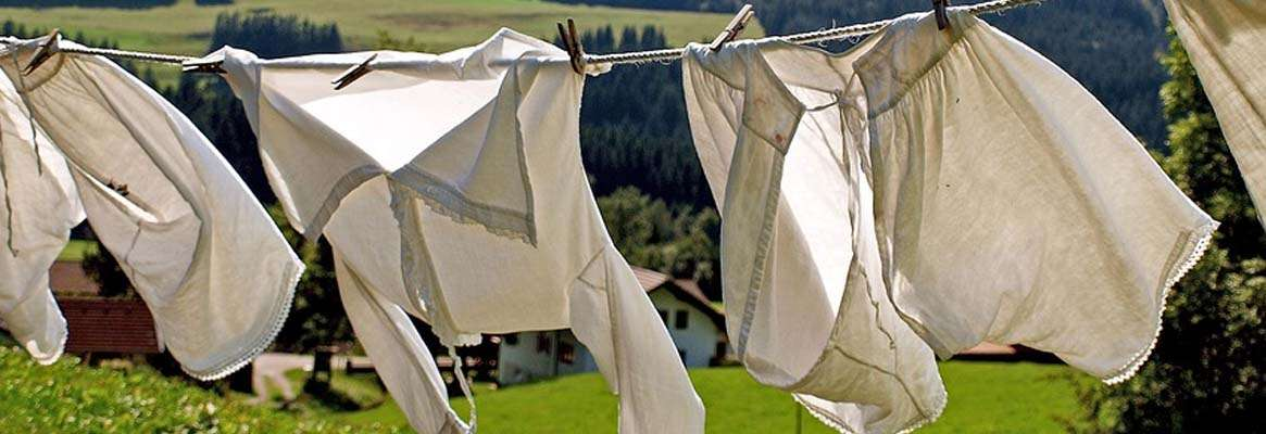 Washing Clothes When Backpacking