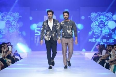 Pakistani fashion puts its best foot forward