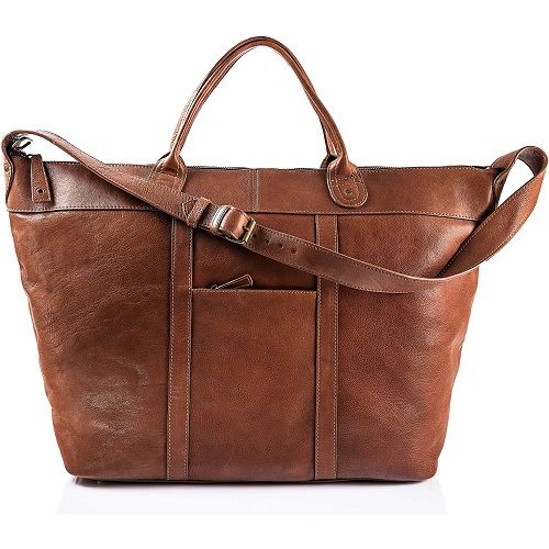 Gift collection of leather accessories for men