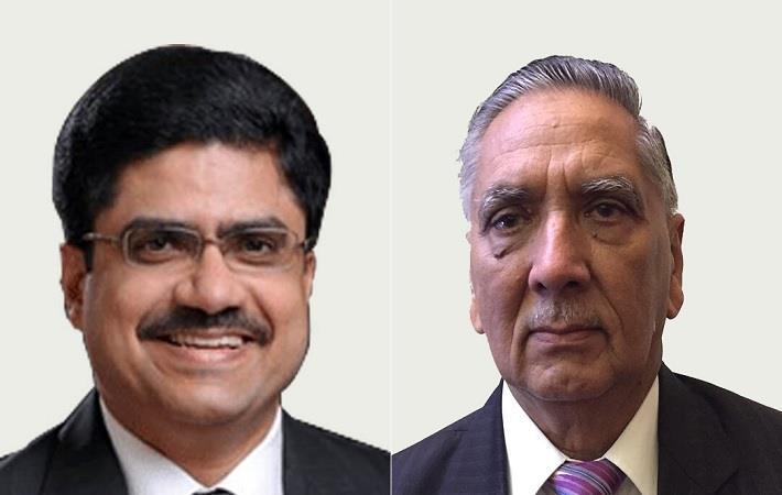 T Rajkumar (left) and DL Sharma. Pic: CITI