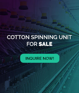 Cotton Spinning Unit for Sale