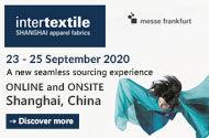 Take part in Intertextile Shanghai Apparel Fabrics : Autumn Edition now