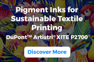 Pigment Inks for Sustainable Textile Printing | Discover More