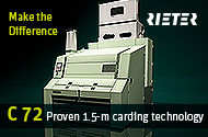 Outstanding Advantages of Card C 72 - RIETER | Know More