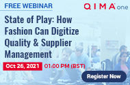 FREE WEBINAR | State of Play : How Fashion Can Digitize Quality & Supplier Management | Register Now