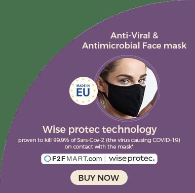 Anti-Viral & Antimicrobial Face Mask