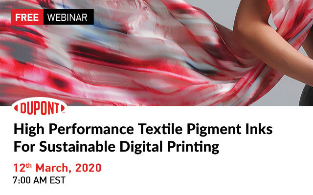 High Performance Textile Pigment Inks For Sustainable Digital Printing