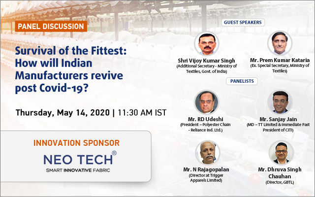 Panel Discussion: Survival of the Fittest: How will Indian Manufacturers revive post Covid-19?