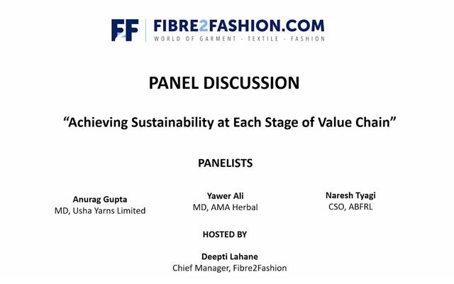Achieving Sustainability at each stage of value chain