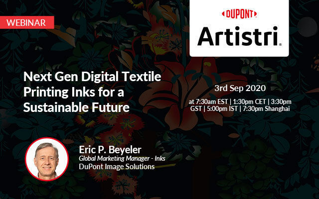 NEXT GEN DIGITAL TEXTILE PRINTING INKS FOR A SUSTAINABLE FUTURE