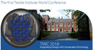 The 91th Textile Institute World Conference