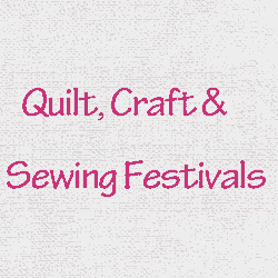 Quilt, Craft & Sewing Festivals Portland 2019